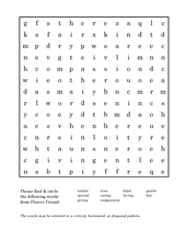 FF word search